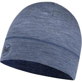 Buff Lightweight Merino Wool Hat denim multi stripes